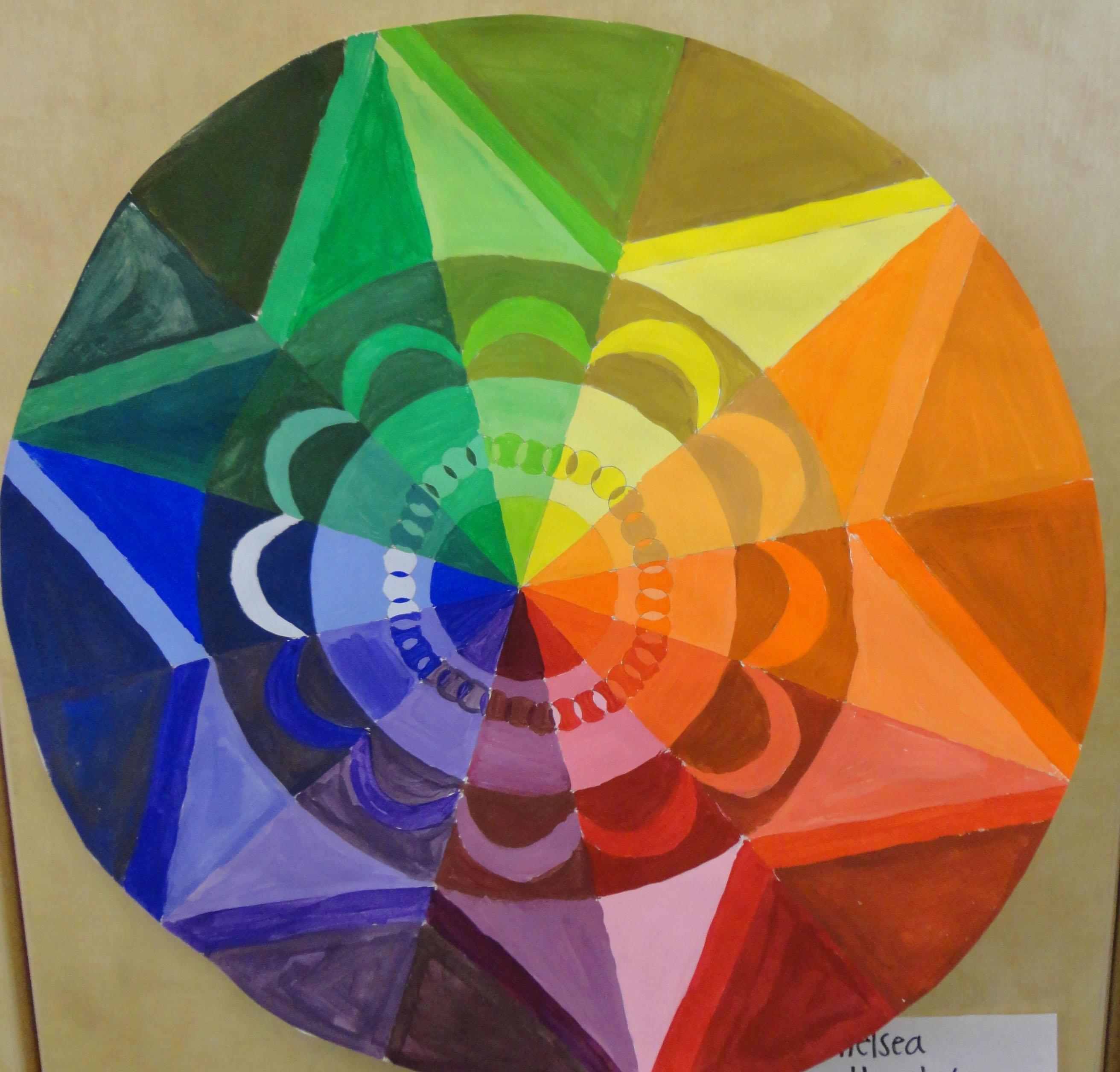 High School Art Lesson Color