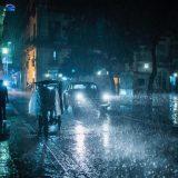 plaza del christo da gece ve yağmur