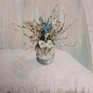 Jane Skingley 'Summer Flowers, White Cloth'