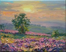 September Evening, Beeley Moor 8x10-3