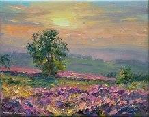 September Evening, Beeley Moor 8x10-3