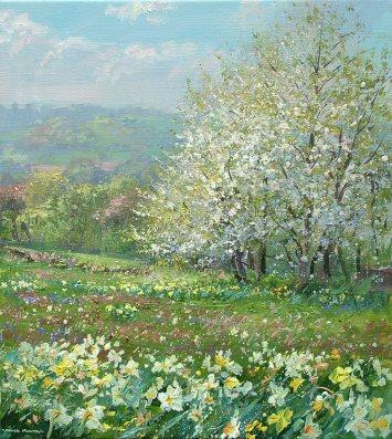 Springtime, Ashleyhay 20x18-3