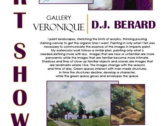 Art Show DJ Berard Gallery Veronique