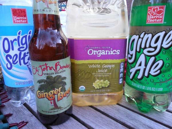 Shampagne ingredients