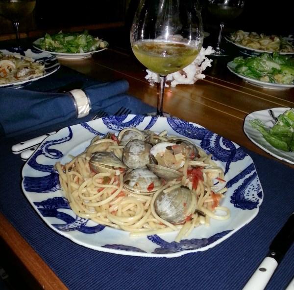 clams linguini