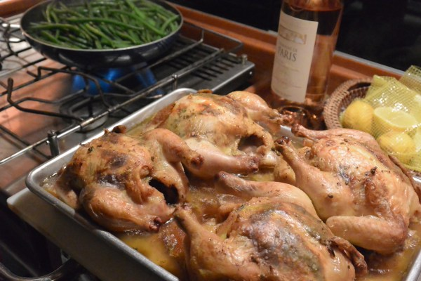 lavender cornish hens done