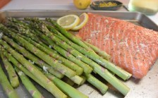 salmon ready for oven