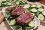 Seared Tuna Salad with Lavender