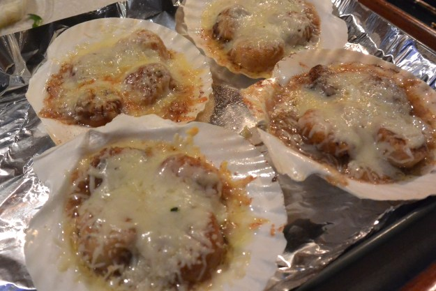 coquilles just broiled