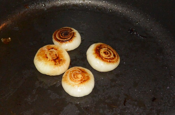 browning onions