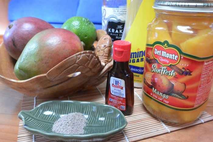 mango fool ingredients