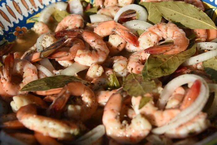 Anne's shrimp close up