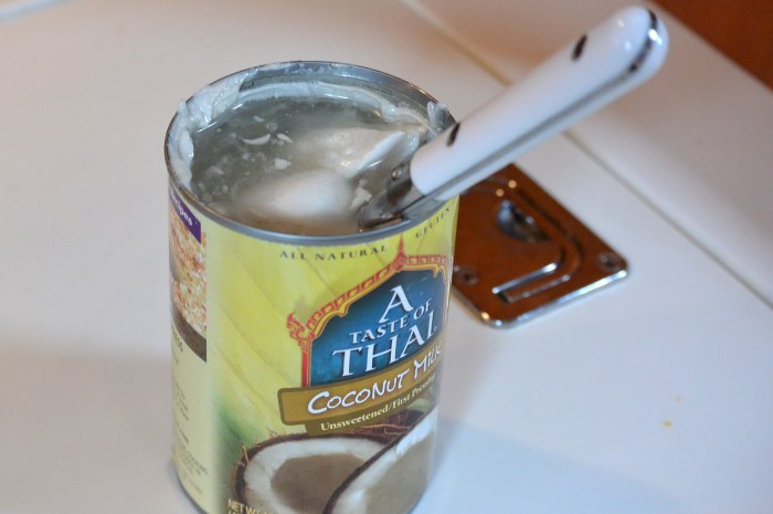 stir coconut milk for gobhi