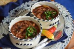 Chipotle Venison Black Bean Chili