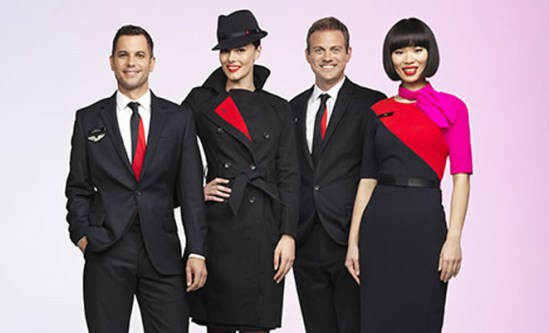 qantas uniform