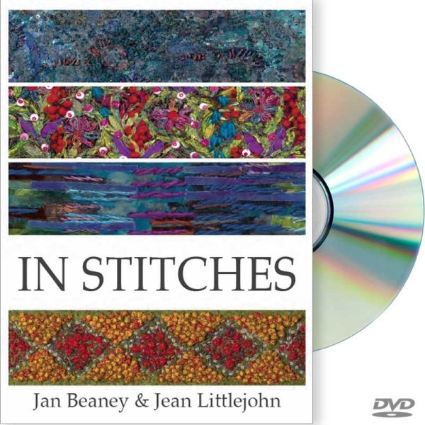 """Cover Image from """"In Stitches"""" featuring Jan Beaney & Jean Littlejohn"""