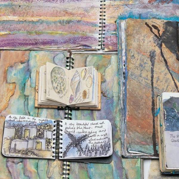 "Art Journals - Image from ""Interpretations: Look, Record, Draw"" featuring Jan Beaney & Jean Littlejohn"