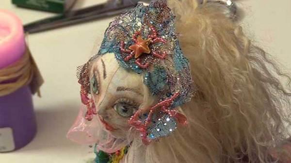 Cloth Doll Mermaids Patti Medaris Culea Image 05