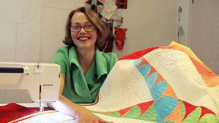 Philippa Naylor – Free Motion Machine Quilting Demonstration