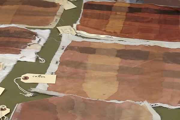 Kakishibu Persimmon Tannin Shibori Paper Fabric Analisa Hedstrom 03