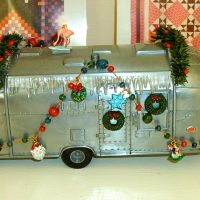 The Christmas Airstream