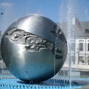 Fountain of Peace, Bratislava, Slovakia