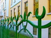 Gymnazium Fence