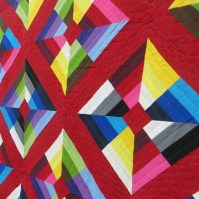 As a quilter and lover of modern art I fell in love with this quilt