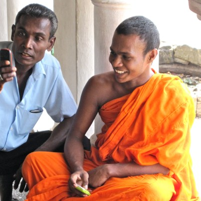 Dambulla Monk