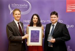 Sciencewise People's Choice Award