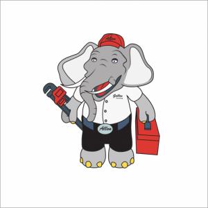 Allon the Elephant Plumber Gallon Plumbing Des Moines Iowa