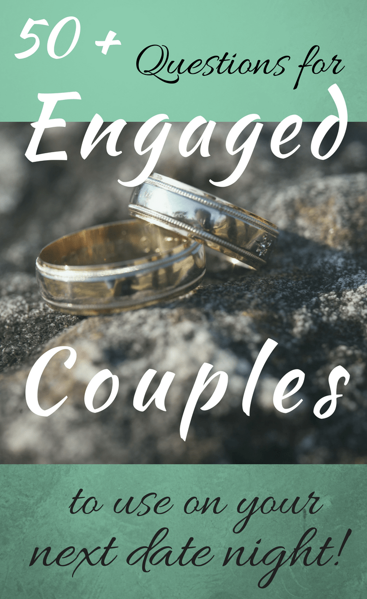 50 Questions for Engaged Couples