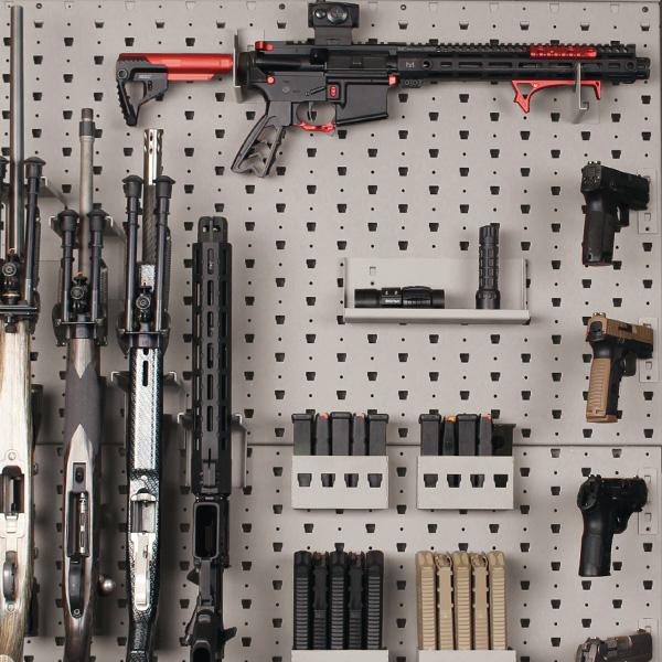 modular wall mount gun racks custom