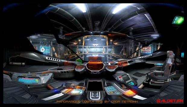 cobra panoramique Elite Dangerous