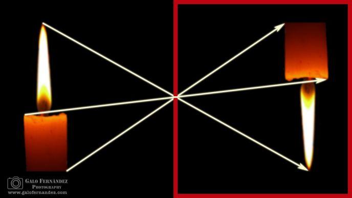 Proyección de la luz - Velas