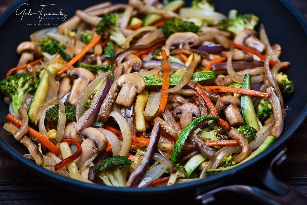 Salteado de vegetales