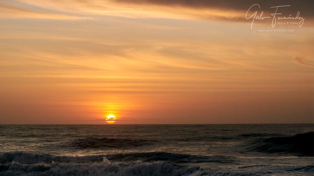 Amanecer en la Costa Atlántica, Cariló - PBA