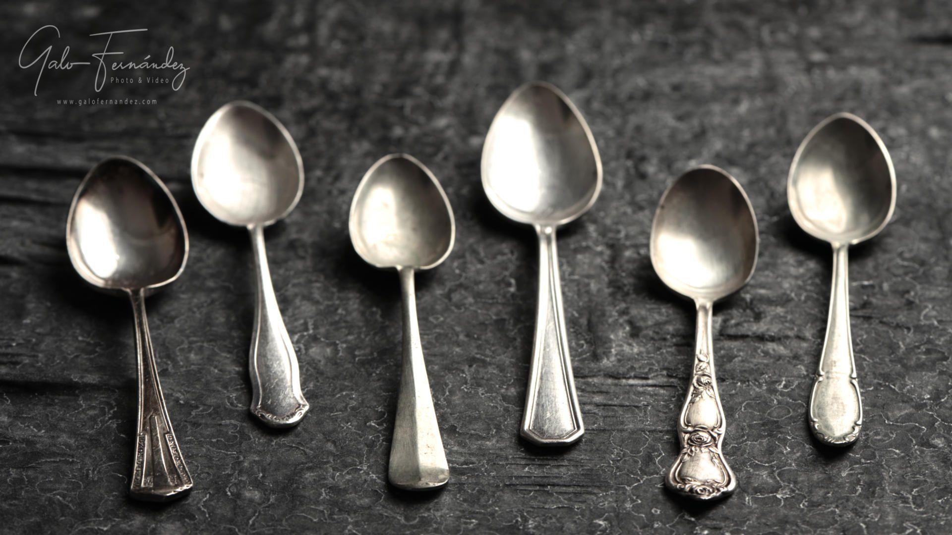 Set de Cucharitas Antiguas