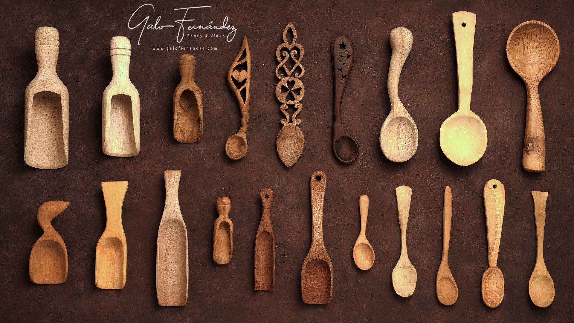 Cucharas y Cucharitas de Madera