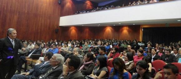 Galo Limón, Conferencia Magistral en Cuenca, Ecuador