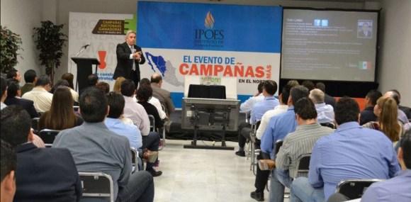 Conferencia Marketing Político Electoral Instituto Político del Estado de Sonora Galo Limón