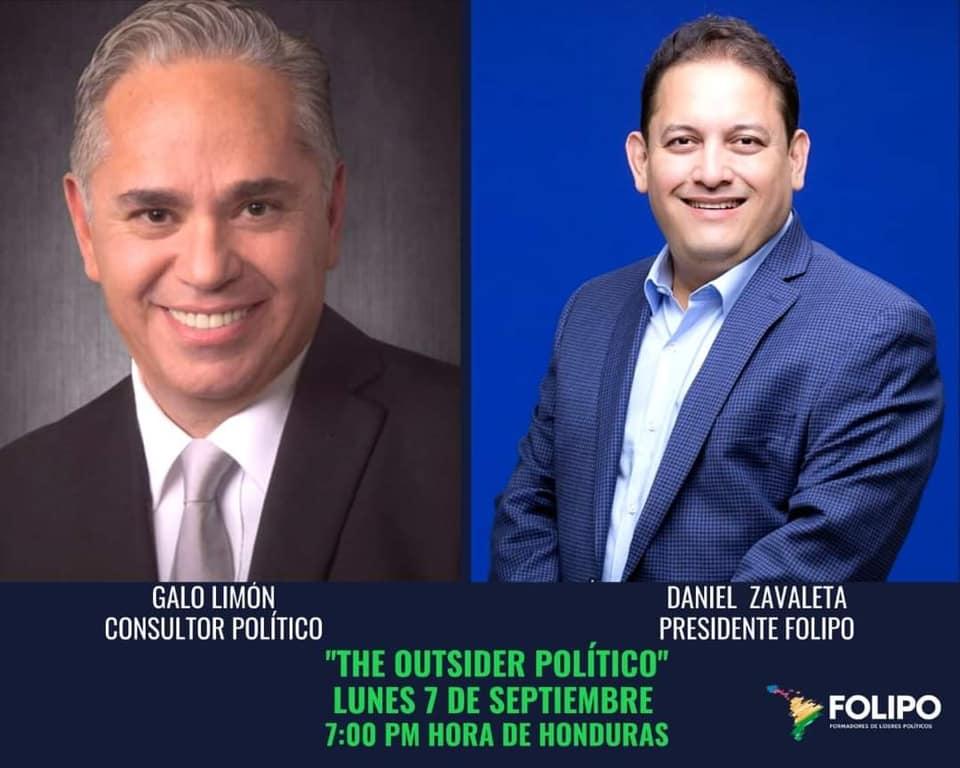 Galo Limón - Consultor político Internacional - The outsider político - FOLIPO