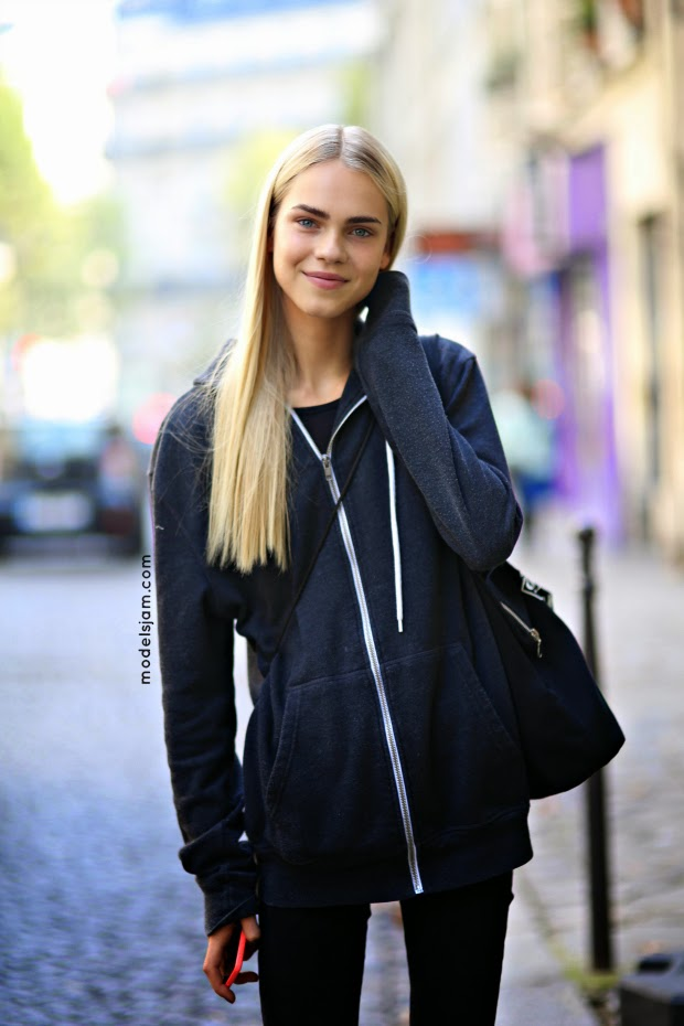 Line Brems Doesnt Want To Be The Next Cara Delevingne