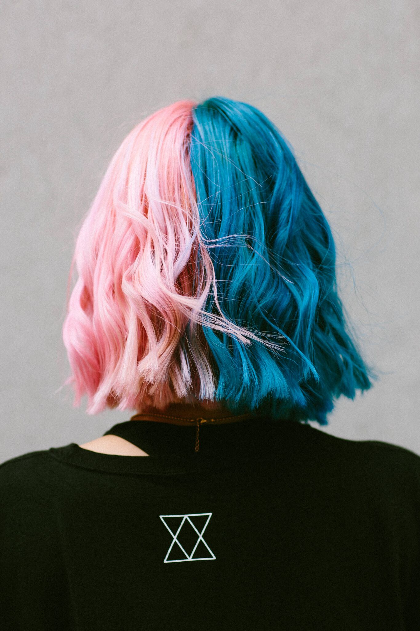 How To Maintain Your Unicorn Hair Color Pink Blue