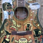 Cool Fender guitar.