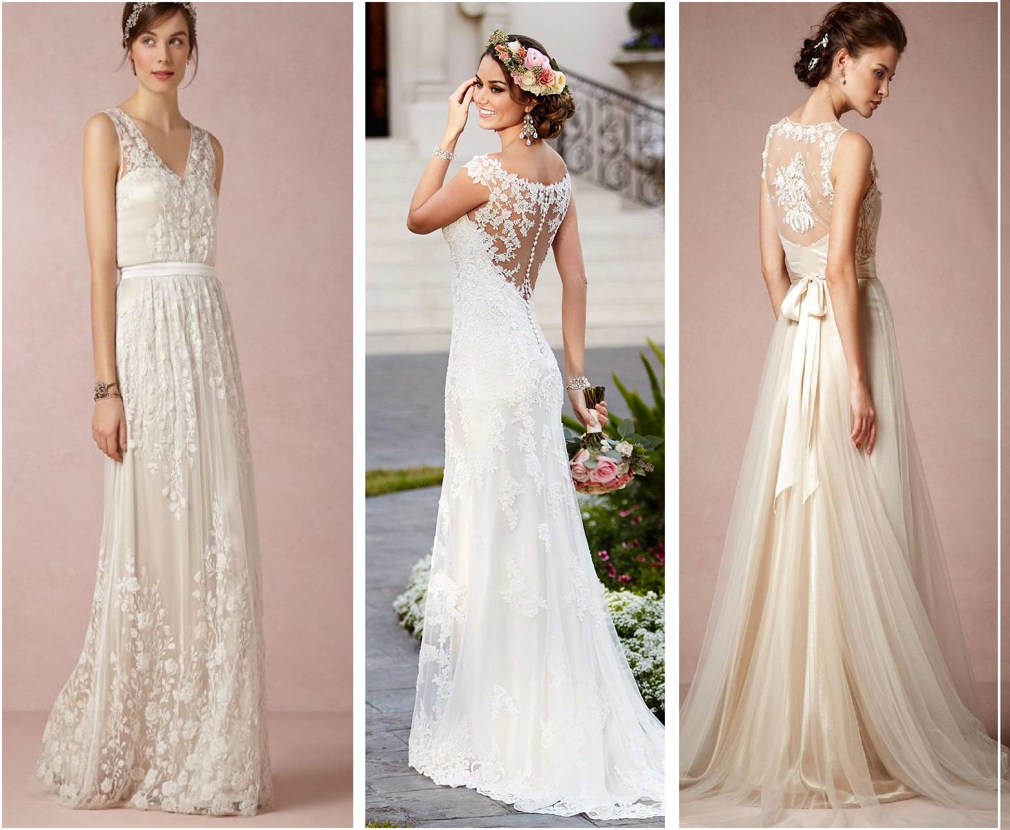 Latest Western Wedding Dresses Bridal Gowns 2017-2018