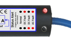 galvanic isolator how to read fault indicator lights