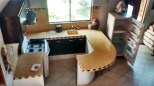 Casita Lunar Kitchen Counter