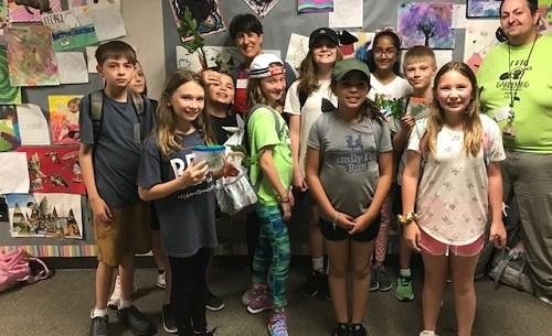 MG Insect Talk at Robinson Elementary 2019