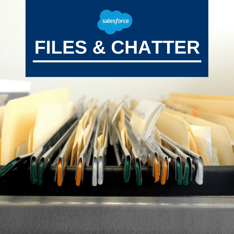 How to Organize Documents with Salesforce Files & Chatter